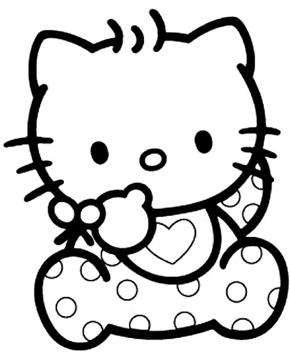 Imagenes De Hello Kitty Para Colorear Hello Kitty Espana